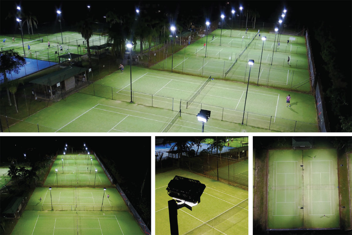 Queenwood Tennis Club, Power by Watts, Electrical projects