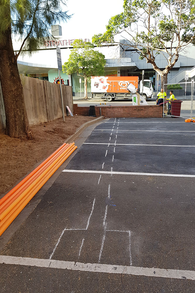 Strathfield Car Park Upgrade,Power by Watts, Electrical projects