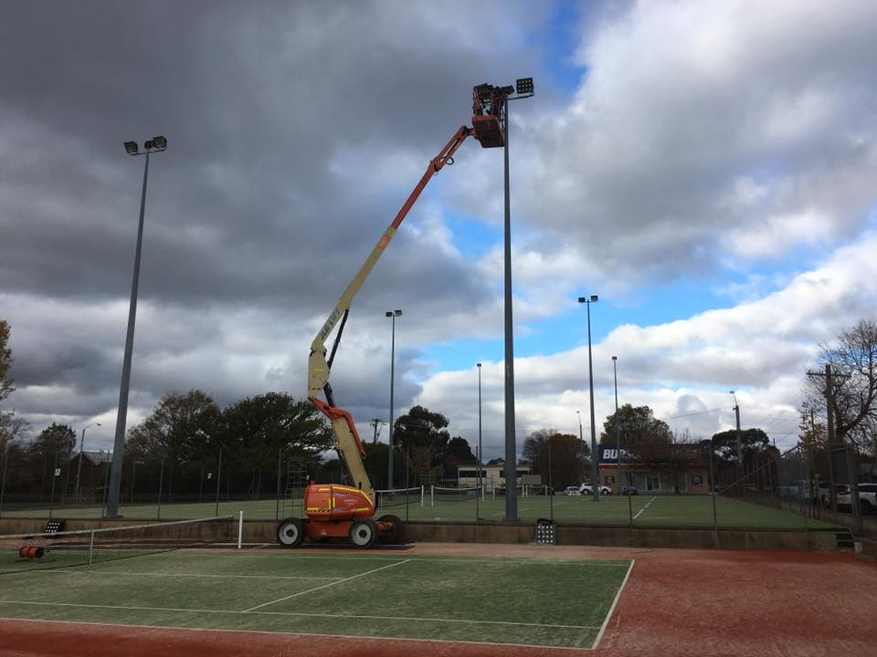 Orange Ex Services Tennis Club, Power by Watts Electrician