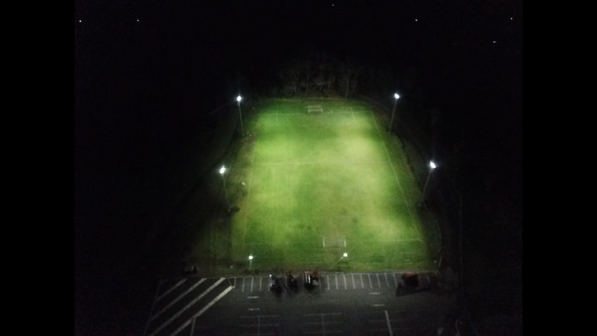 Ison Park Soccer Lighting, Power by Watts Electrician