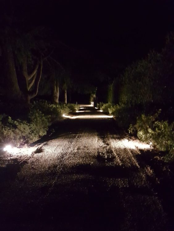 Driveway and garden lighting, Power by Watts Electrician