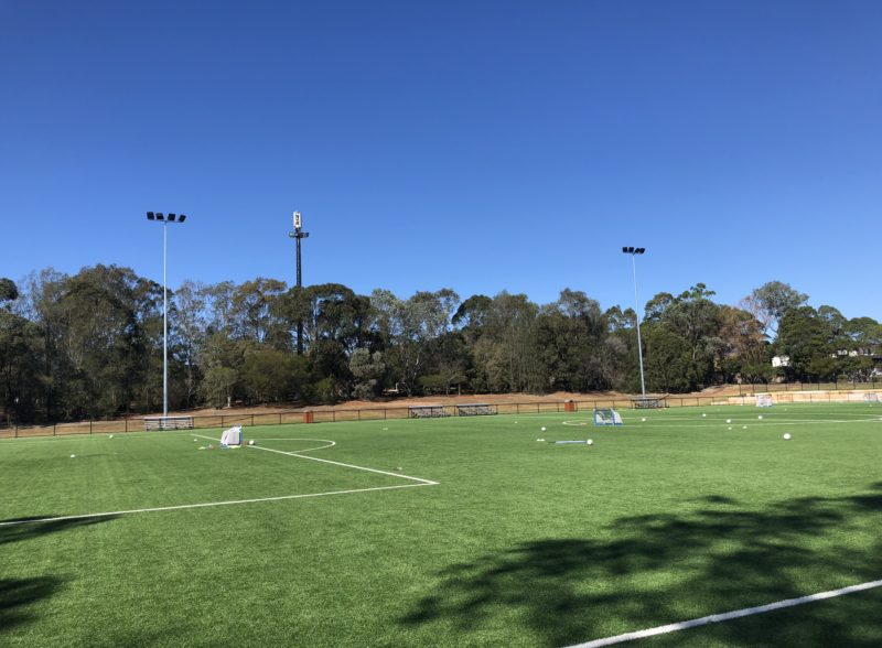 Strathfield Park Soccer Field Lighting, Power by Watts Electrician