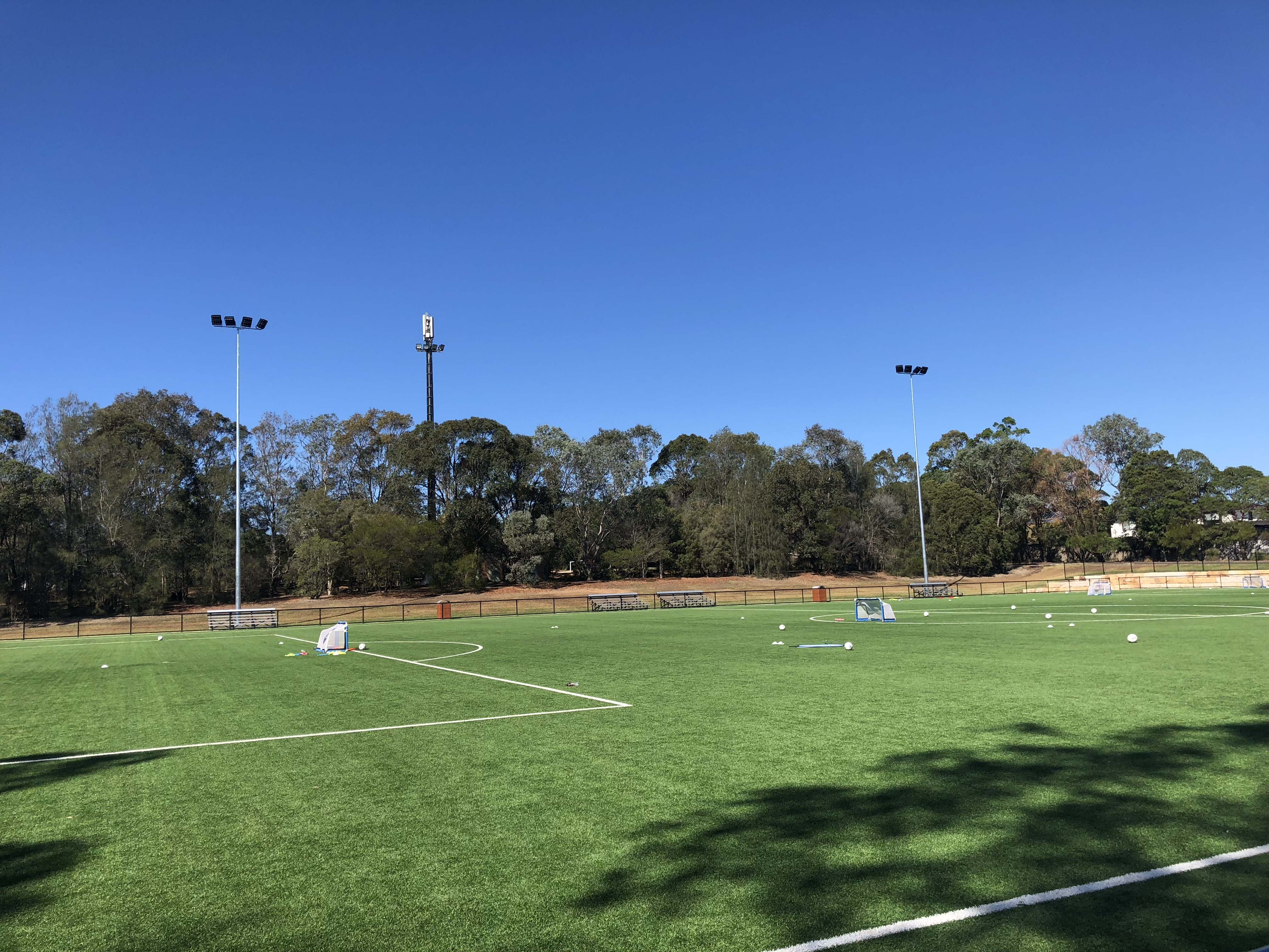 Strathfield Park Soccer Field Lighting, Power by Watts Electrician