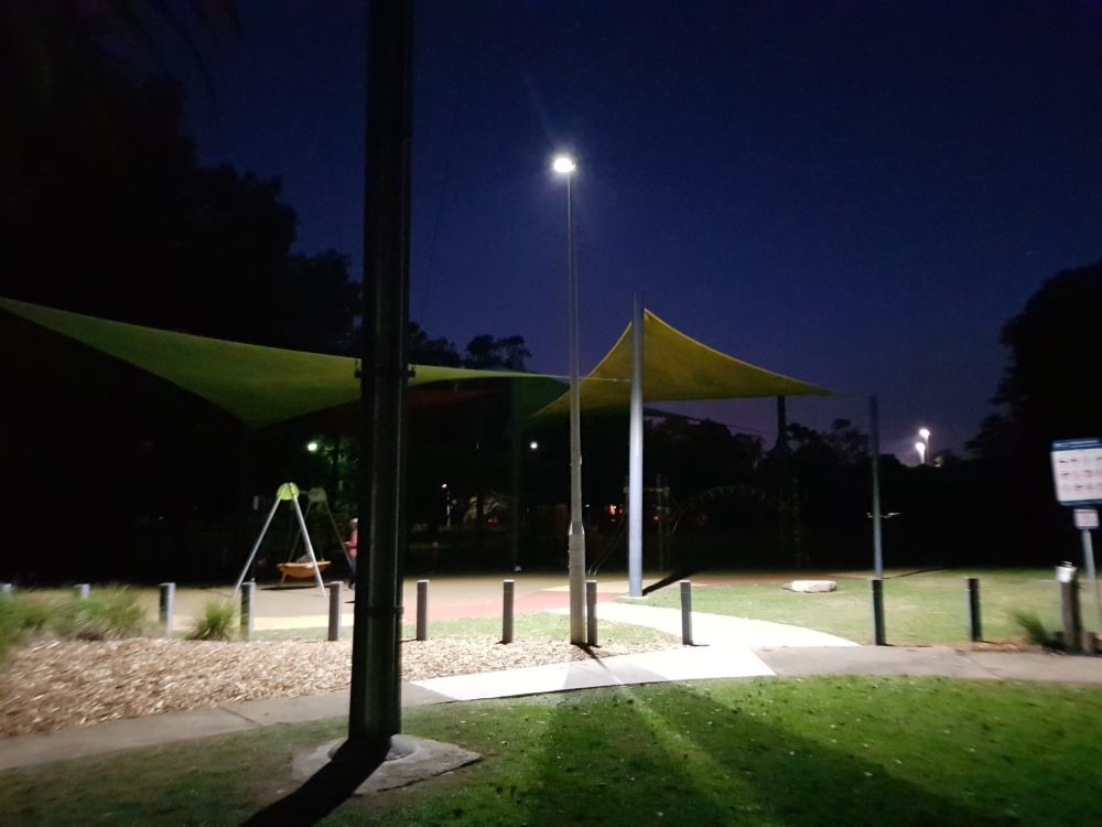 Park Lighting, Power by Watts Electrician