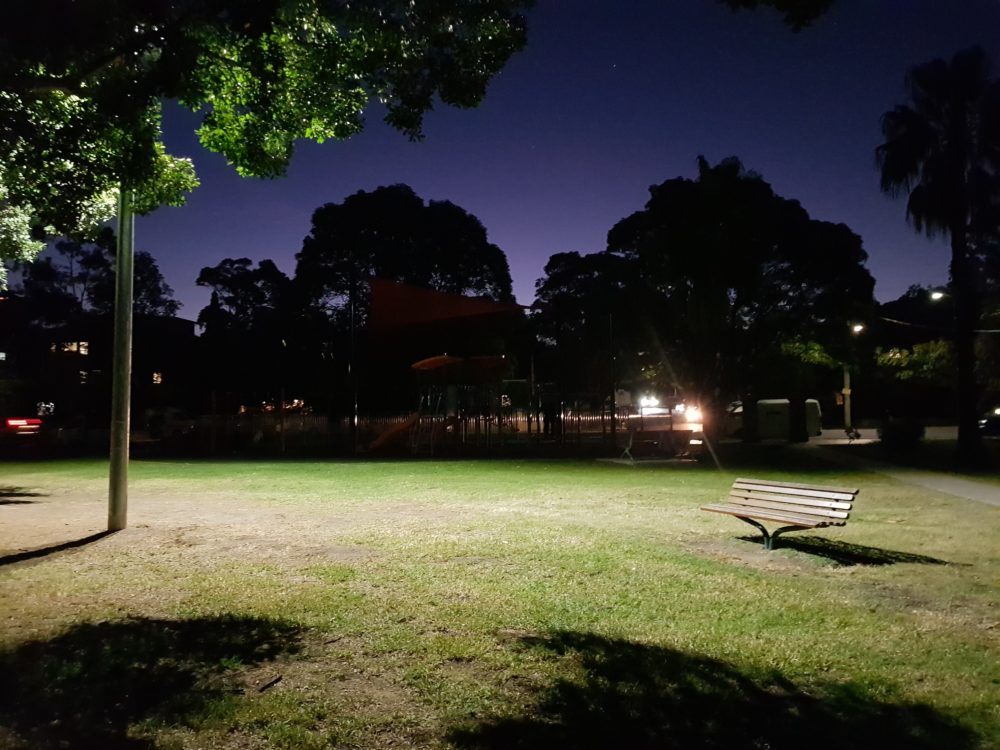 LED Lighting Upgrade for Parks, Power by Watts Electrician