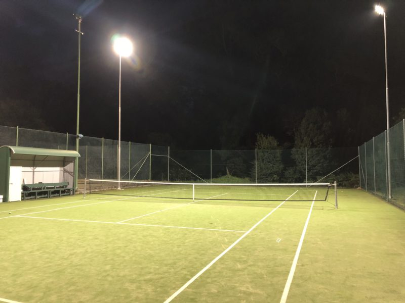 Kangaroo Valley Tennis Club Lighting, Power by Watts Electrician