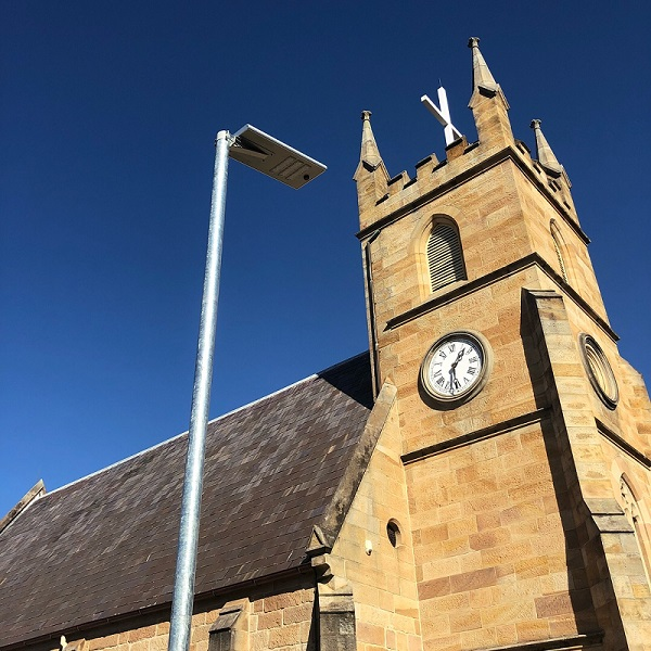 Church Solar Lighting, Power by Watts Electrician